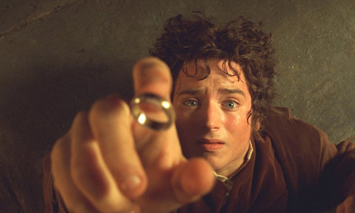 THE LORD OF THE RINGS FELLOWSHIP OF THE RINGS ELIJAH WOOD