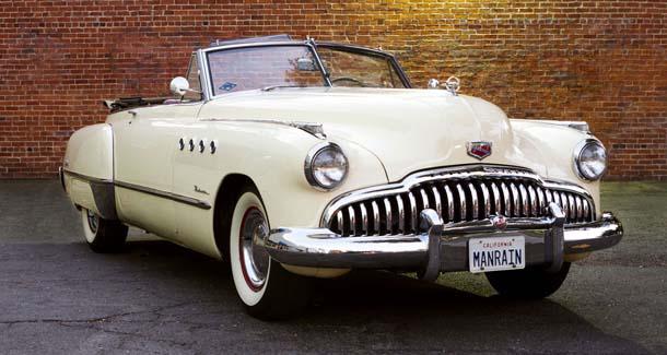 1949 Buick Roadmaster Convertible Car from Rain Man Movie