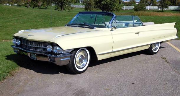 1962 Cadillac  Series 62 Convertible 62F046225