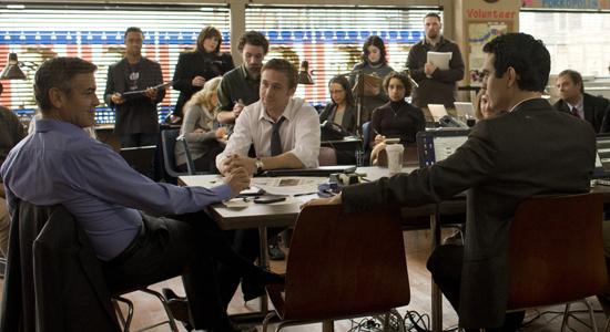 Ryan Gosling;George Clooney;Max Minghella