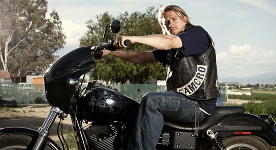 "SONS OF ANARCHY: Charlie Hunnam as Jackson ""Jax"" Teller. CR: Mike Muller / FX"