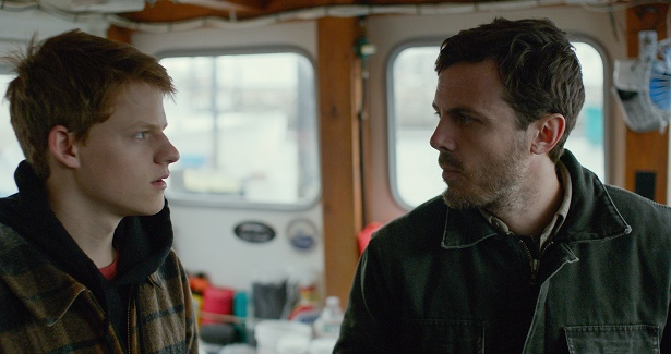 Lucas Hedges and Casey Affleck in MANCHESTER BY THE SEA. Photo credit_ Courtesy of Amazon Studios