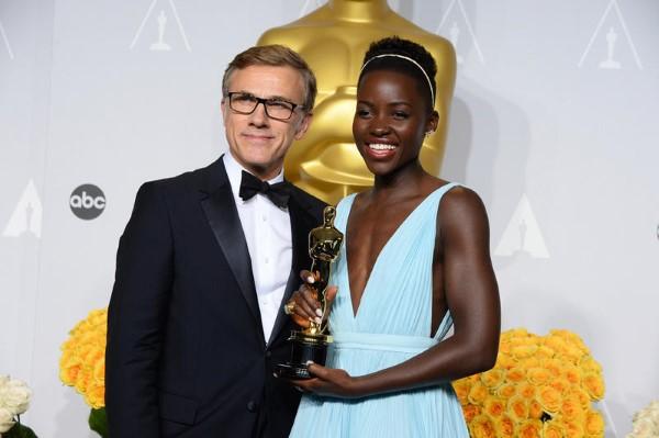 Mejor actriz de reparto (Lupita Nyong'o por 12 años de esclavitud)