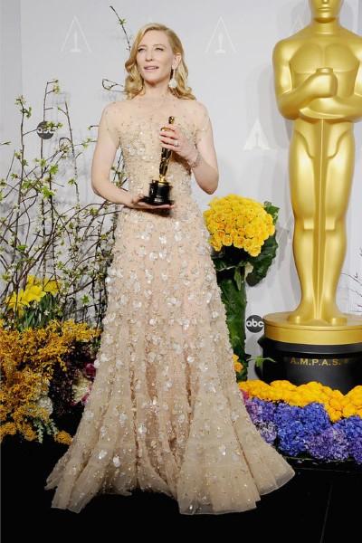 Mejor actriz (Cate Blanchett por Blue Jasmine