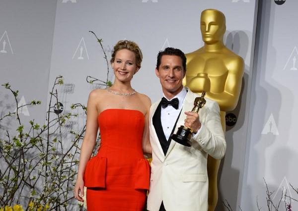 Mejor actor (Matthew McConaughey por Dallas Buyers Club)