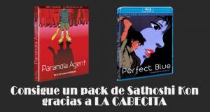 Consigue un pack de Satoshi Kon en BluRay