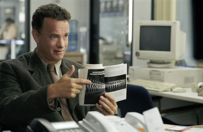 TOM HANKS en La Terminal - 2004