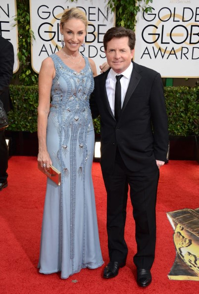Tracy Pollan y Michael J. Fox