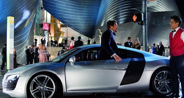 ?Iron Man? vertraut auf den Audi R8