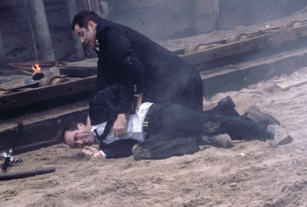 FaceOff movie image Nicholas Cage and John Travolta
