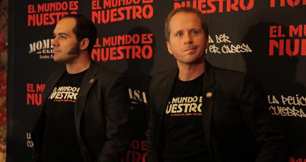 foto El Mundo Es Nuestro photocall