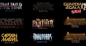 ¿Qué nos deparará el Universo Cinematográfico Marvel?